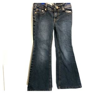 Lei flare jeans dark wash girls 5
